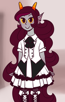Feferi in Fancy Dresses 2 by jujuarts