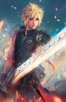 FFVII: courage by vtas