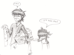 GORILLAZ - Growing Up by MarqueeMoonGirl