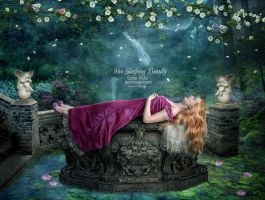 The Sleeping Beauty by EstherPuche-Art