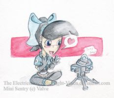 The Electrician n' Mini Sentry by MidNight-Vixen
