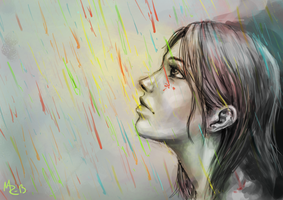 Colorful Rain by TheMR1235