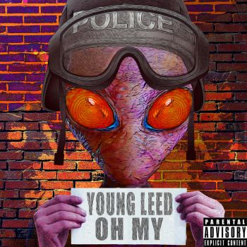 Young Leed:Oh my (album cover) by geregorik