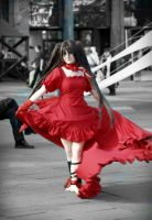 Alice Baskerville [Red Artbook Dress] by Bell-hime