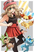 Pokemon XY by betrayal-and-wisdom
