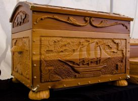 Treasure chest by mistersawdust