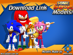 Sonic Boom Models First Release! by NIBROCrock