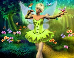Little Tinkerbell by tinca2