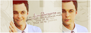 Sheldon Jim Parsons Sign 2 by ManonGG
