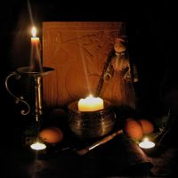 Eostre Eve Altar by Thorskegga