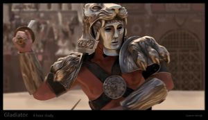 screenstudy Gladiator by Suzanne-Helmigh