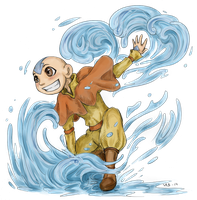 ATLA - Aang by LadyVentuswill