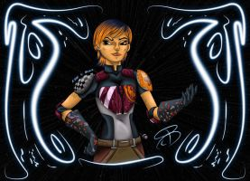Star Wars - Sabine Wren by RCBrock