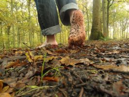 Autumn barefooting 5 by PhilsPictures