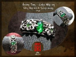 """Celtic Welsh"" ring by somk"