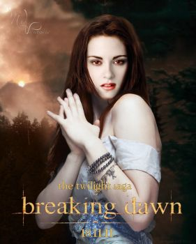 Breaking Dawn Poster by GentlyVampire