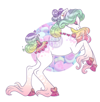 Feb. 2: Candy Hearts [CLOSED] by NoxxPlush