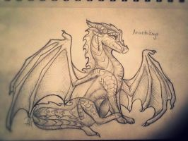Traditional Cross-hatch by MoonfireDraws