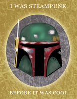 Boba Fett Steampunk Smack Talk by stillestilo