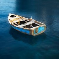 my little row boat by VaggelisFragiadakis