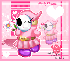 AT: Pink Shygirl by Bowser2Queen