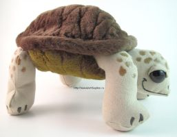 Turtle Plush by AnimalArtKingdom