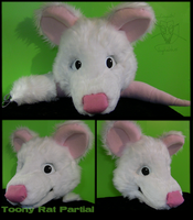 Toony Rat Partial by Radioactimals
