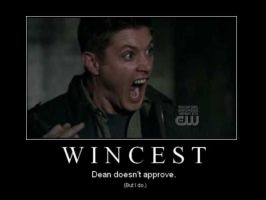 Dean. He doesn't approve. by disco-curtis