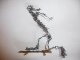 Wire Sculpture 2 by SkatersOnly