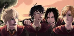 The Marauders by JuliaDeBelli