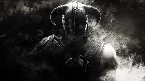 The elder scroll V skyrim Wallpaper by Mrbarclonista