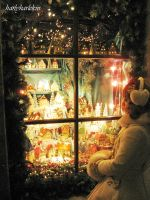 Window to Christmas by harlyharlekin