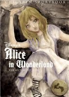 Alice in Wonderland BOOK COVER by ladylolitas
