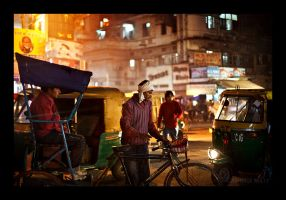 streets of delhi IV by PatrickWally