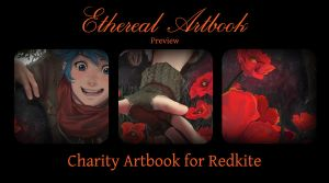 Ethereal Artbook Preview by Razuri-chan