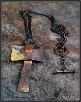 Copper Cross by OrestesGraphics