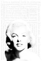 Marilyn Quotes - Vector by pantunes