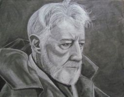 Old Ben Kenobi touch up by sketchheavy
