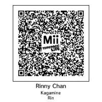 QR code of tomodachi Kagamine Rin by PuertoricanMiku