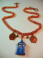 Doctor Who Timelord Necklace by Krystalchains