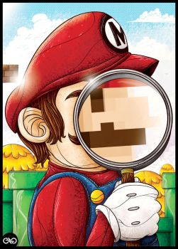 The real Mario by CALLit-ringo