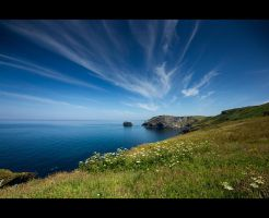 Tintagel by TheFoolInTheRain