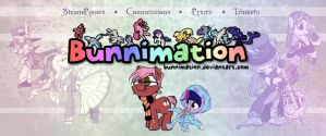 Booth Banner by bunnimation