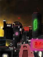 The City of Everlasting Night by TheVideogameEmperor