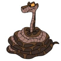 Kaa in Color by jerrydestrtoyer