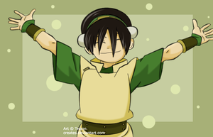 Avatar - Toph Bei Fong by creates