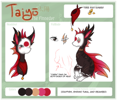 Reference :: Taiyo the Finnedyr by Hollowed-Chimera