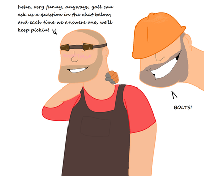 Engie X Soldier Q and A by Ask-Engie-and-Solly