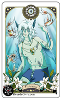 Astrology Deck Card: Pisces by Alix-Aethusa