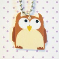 Hootie owl necklace by coonies